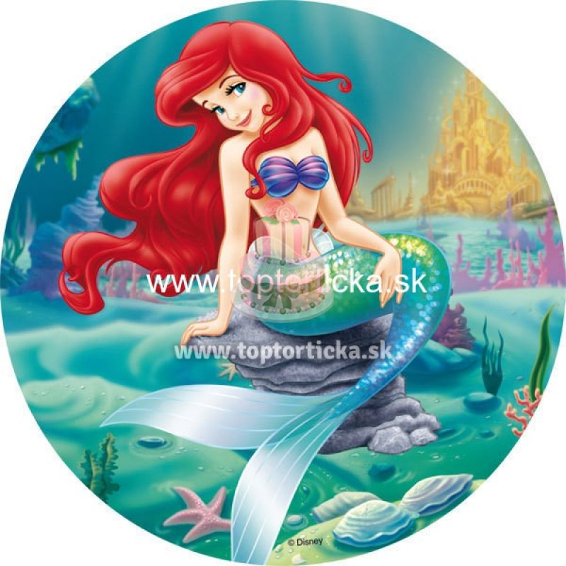 Jedlý obrázok kruh Ariel č.1  9ddb77a87aa