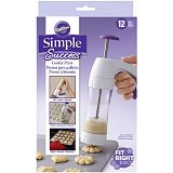 Wilton lis na sušienky (Simple Success Cookie Press)